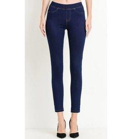 Just Trust It Skinny Jeans- Super Dark Wash