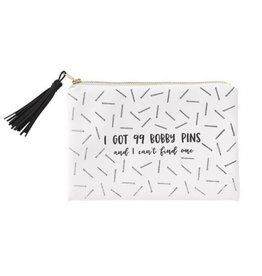 99 Bobby Pins Cosmetic Bag