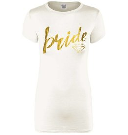 Bride Short Sleeve Graphic Tee- Ivory