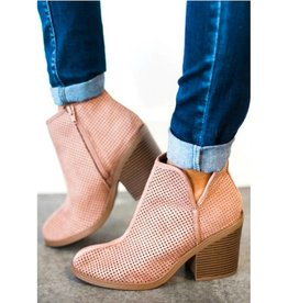 Call It Fall Booties- Blush