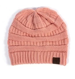 C.C Beanie Hat Peach (One Size)