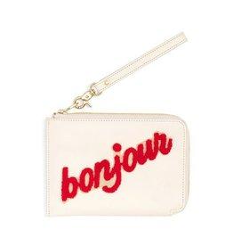 Getaway Travel Clutch- Bonjour