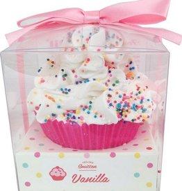 Cupcake Bath Bomb Large Vanilla