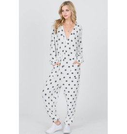 Cozy Comfort Oversized Fit Onesie - Off White
