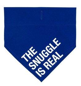 Snuggle Is Real Bandanna- Small/Medium