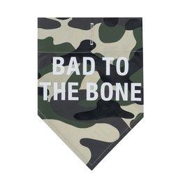 Bad To The Bone Dog Bandanna- Large/Xlarge