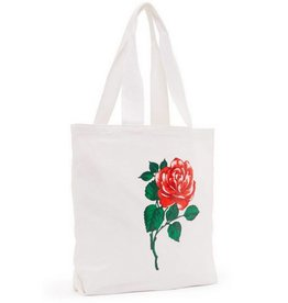 Canvas Tote- Will You Accept This Rose