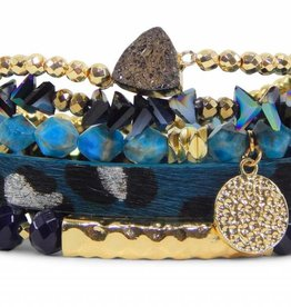Erimish Stackable Bracelet Set - Disco