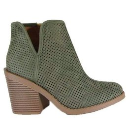 Call It Fall Booties- Olive