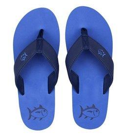 SOUTHERN TIDE Mens Flip Flops- Royal Blue