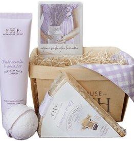 Lavender Harvest Gift Basket