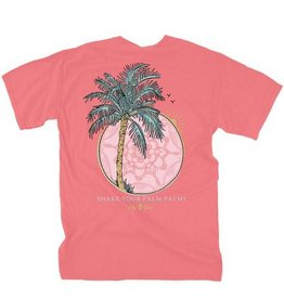 LG-Palm Palms-SS-Salmon