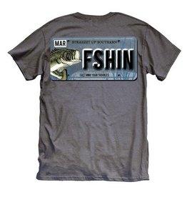 SU-Fish License-SS-Charcoal