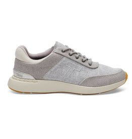 TOMS Drizzle Canvas Slub Chambray Womens Arroyo Sneaker- Grey