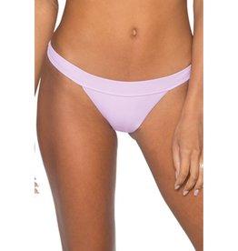 Plumeria Pant Bikini Bottom- Bellflower
