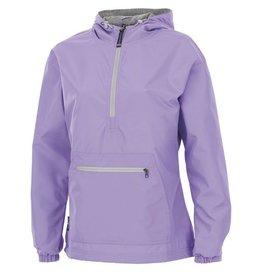 CHARLES RIVER Chatham Anorak Pullover Rain Jacket- Lilac