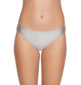 Liquid Utility Standard Leg Hipster Bikini Bottom- Opal Gray
