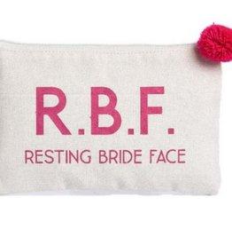 Canvas Cosmetic Bag- RBF