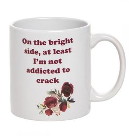 Ceramic Coffee Mug- Addicted To Crack