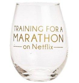 Stemless Statement Wine Glass- Netflix