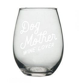 Wine Glass- Dog Mother
