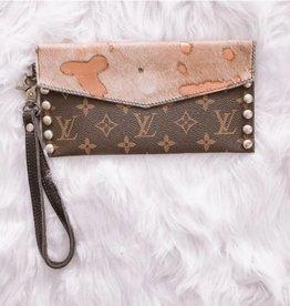 UPCYCLED LV No Nonsense Handbag- Rose Gold
