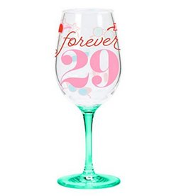 Forever 29 Acrylic Wine Glass