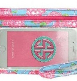 SIMPLY SOUTHERN Phone Wristlet- Roses