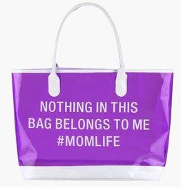 #Momlife Beach Bag