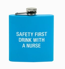 Drink With A Nurse Flask