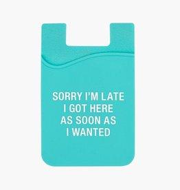 Sorry Phone Pocket