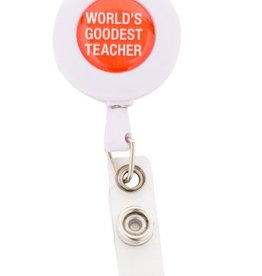 World's Goodest Teacher Badge Reel