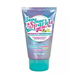 Sea Star Sparkle 4 oz SPF 50+ Mermaid - Coco LIme