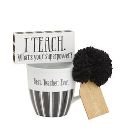 Teacher Ever Mug Set