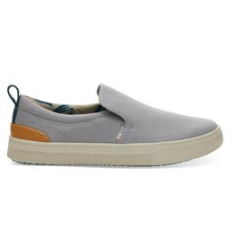9f2f05a43b2 TOMS Women s TRVL LITE Slip Ons - Drizzle Grey Canvas