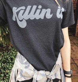 Killin' It Graphic Tee - Black