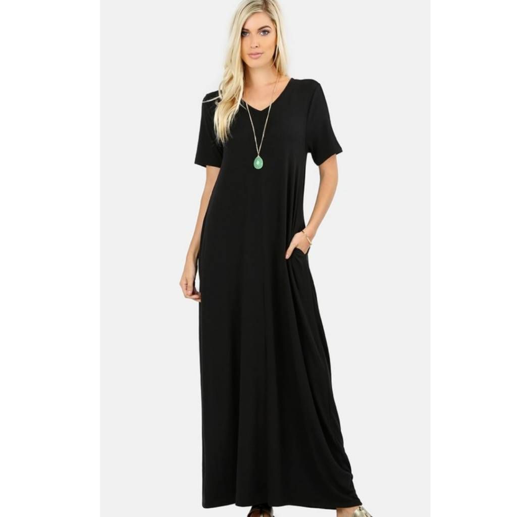 f2298229a444 Long Live The Weekend Maxi- Black - Cheeky Bliss