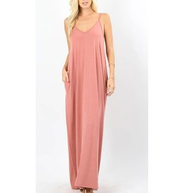 A Lively Love Maxi Dress - Ash Rose