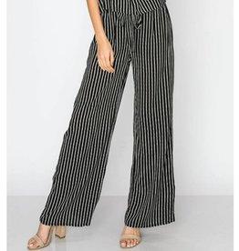 Summertime Sass Wide Leg Pants - Black