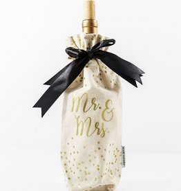 Mr. & Mrs. Wine Bag