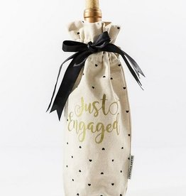 Just Engaged Wine Bag