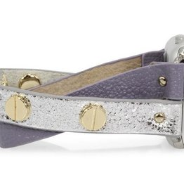 Erimish Skinnies Apple Watch Band - Lilac and Gold