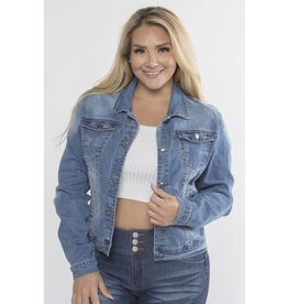 Denim Lover Classic Jacket - Medium Wash