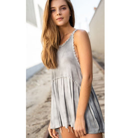 Hippie Girl Top - Fog
