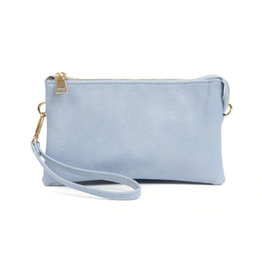 The Riley Wristlet/Crossbody - Periwinkle