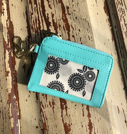 SS-Leather Key ID-Teal