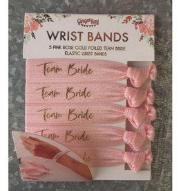 Team Bride Hair Tie Pack