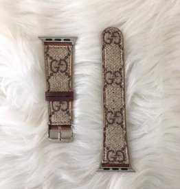 Upcycled GG Watchband (38 mm)