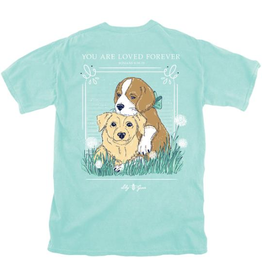 LG-Loved Forever Dogs-SS-Chalky Mint