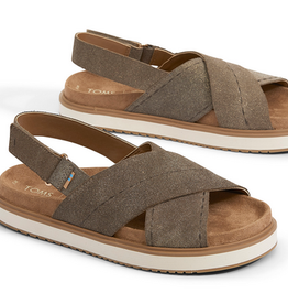 TOMS Marisa Sandal - Dusty Gold Star Suede